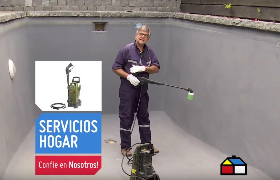 reparar y pintar una piscina de concreto